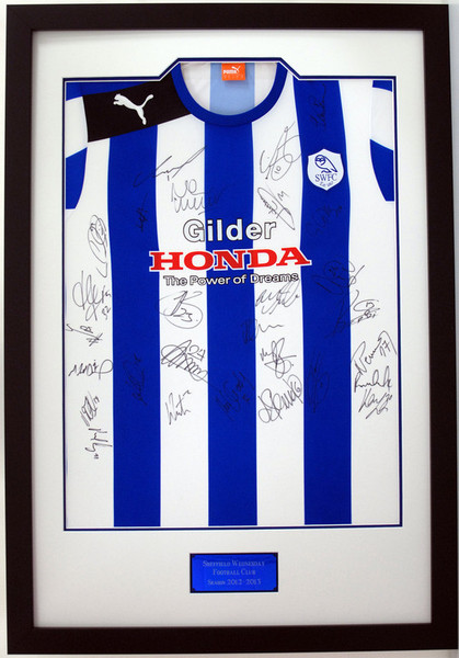 Matrix Frames & Displays Ltd - Football Shirt Framing